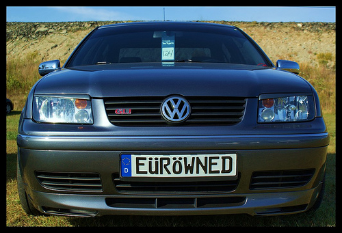 Vw Euro Plate The Euro Plate Blog